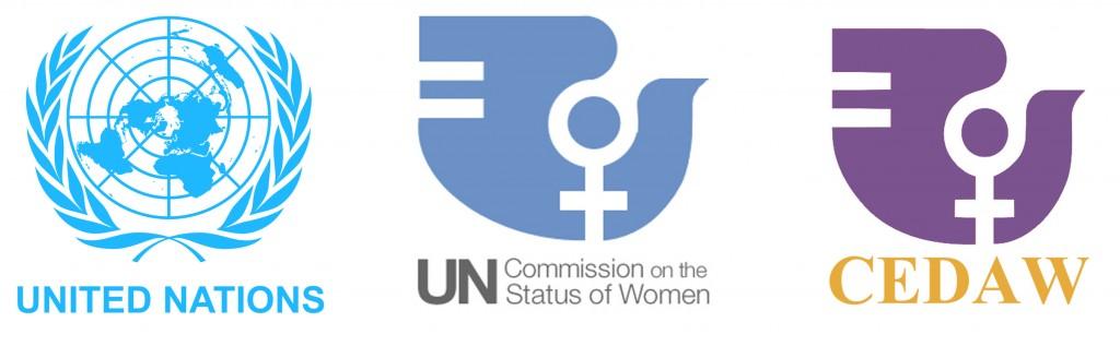 UN-CSW-CEDAW-logos